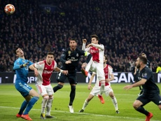 Tagliafico fue importante con el Ajax ante el Real Madrid. AFP