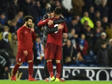 Firmino was key for Liverpool's victory. AFP