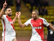Falcao cree que Mbappé puede mejorar. AFP