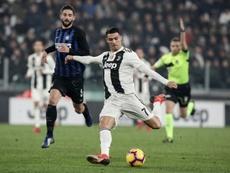 El Juventus-Inter podría aplazarse junto al resto de partidos por el coronavirus. AFP