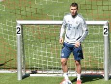 O desempenho de Lucas foi criticado por Michael Rummenigge. AFP