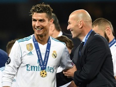 Cristiano Ronaldo will not return to Real Madrid. AFP