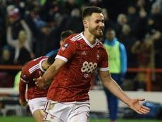 La Real Sociedad jugará en verano un amistoso con el Nottingham Forest. AFP/Archivo