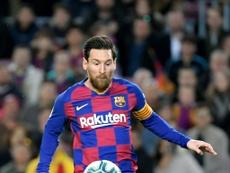 Lineker couvre d'éloges Messi. AFP