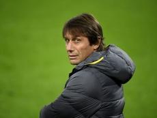 Conte si sfoga dopo la sconfitta. AFP