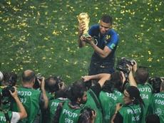 Mbappé tuvo la posibilidad de fichar por el Madrid, pero eligió al PSG. AFP