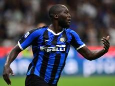 Torcida da Inter falou sobre Lukaku... para defender Cagliari. AFP