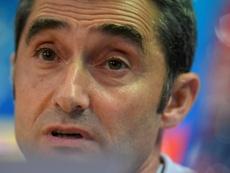 Valverde advierte del peligro del Tottenham. AFP