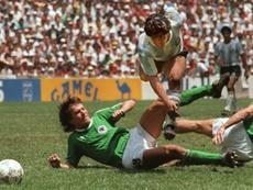 Maradona ofreció un millón de marcos a Matthäus para fichar por el Nápoles. AFP