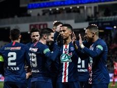 El PSG eliminó al Dijon. AFP