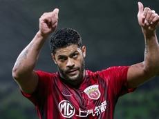 Hulk se aproxima do fim do contrato no futebol chinês. AFP