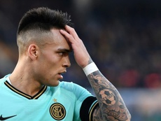 Le Real Madrid veut chiper Lautaro au Barça. AFP