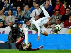 El Madrid tiró menos que nunca a puerta en lo que va de temporada. AFP
