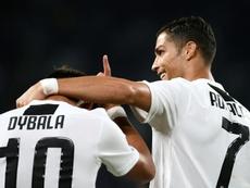 Dybala contou a Cristiano sobre o sentimento dos argentinos. AFP