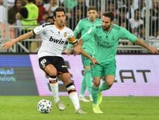 Parejo jugó en el Madrid de pequeño. AFP