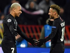 Herrera believes both Neymar and Mbappé will be at PSG next season. AFP