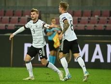 L'Allemagne tenue en échec par la Suisse. AFP