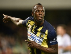 The former sprinter enjoyed a two month trial with Australian club Central Coast Mariners. AFP
