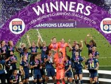 Lyon remporte la Ligue des champions pour la cinquième fois consécutive. AFP