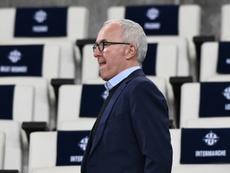 McCourt a affirmé à la DNCG ne pas vouloir vendre. AFP