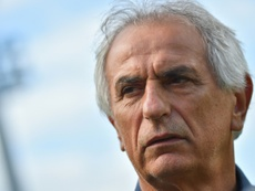 Vahid Halilhodzic ya fue presentado como nuevo seleccionador de Marruecos. AFP