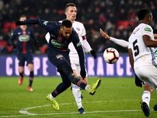 Neymar es el que más cobra del fútbol francés. AFP