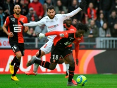 The Rennes president says Camavinga isn't going to Real Madrid. AFP