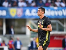 Ronaldo was underwhelming in his debut for Juventus. AFP