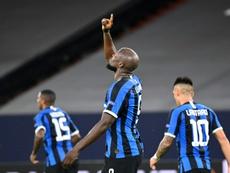 El Inter, a cuartos de final. AFP