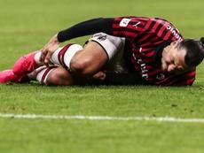 Zlatan podría acabar sancionado. AFP