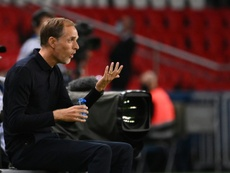 PSG coach is not worried he could be sacked. AFP