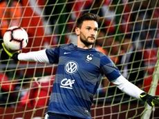 Lloris évoque le match de la France au Portugal. AFP