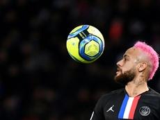 Neymar eligió a los cinco mejores jugadores. AFP