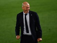 Zidane deja entrever que necesita otro '9'. AFP