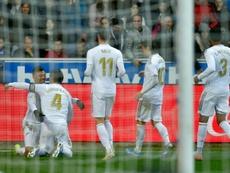 Al Madrid le espera un diciembre movido. AFP/Archivo