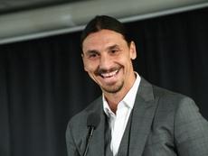 Ibrahimovic diz adeus ao Los Angeles Galaxy. AFP