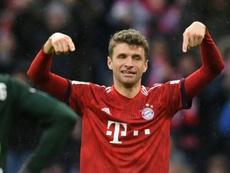 El United intentará el fichaje de Müller en enero. AFP