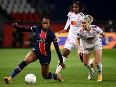 Le PSG féminin est champion d'automne. AFP