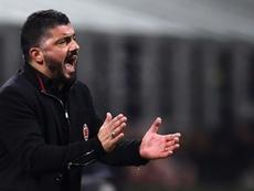 El Milan, a recuperar el tiempo perdido. AFP