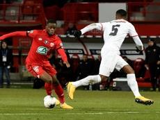 Dijon v Nimes has been cancelled. AFP