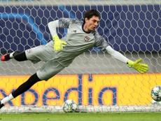 Tatarusanu will become an AC Milan player. AFP