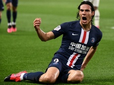 Cavani could stay at PSG. AFP