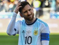 Abreu a conseillé à Messi de demander pardon. AFP