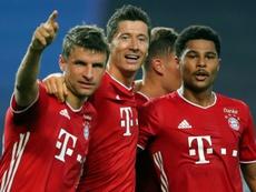 El Bayern es prácticamente imparable. AFP