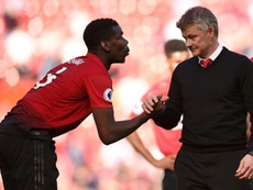 Solskjaer doesn't want Pogba to leave. AFP