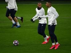 Les compos probables du match de Ligue 1 entre le PSG et Bordeaux. AFP