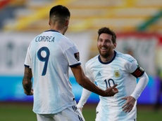 Bolivia 1-2 Argentina: Correa completes turnaround in La Paz test. AFP