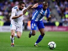 Diego Rolan gustó en el Málaga, pero no logró asentarse en España. AFP