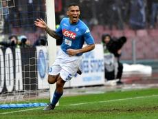Everton veut casser sa tirelire pour deux joueurs de Naples. AFP