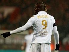 Mario Balotelli pourrait débarquer au Brésil. afp